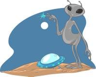 UFO Royalty-vrije Stock Afbeeldingen