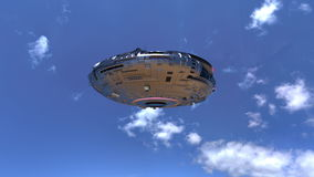 UFO Lizenzfreies Stockfoto
