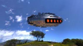 UFO Lizenzfreie Stockbilder