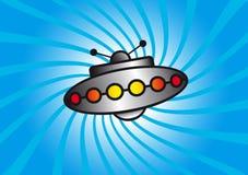 ufo иллюстрация вектора