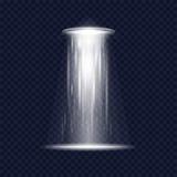 UFO alien spaceship stock illustration