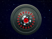 Ufo bottom view Stock Image