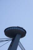 UFO-Brücke Stockbild