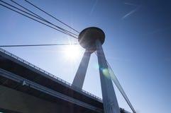 UFO-Brücke Stockfotos