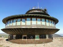 UFO building stock photo