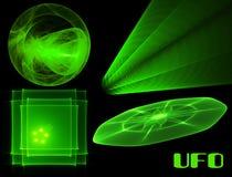 UFO collection Stock Photos