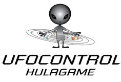 Ufo Control Hulagame Royalty Free Stock Photo