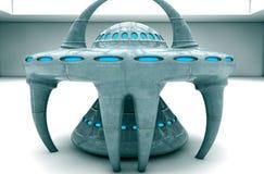 UFO 3d ilustración del vector