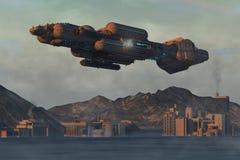 UFO 3d Стоковое Изображение RF
