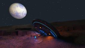 UFO Royalty Free Stock Photo