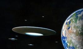 UFO Royalty Free Stock Image