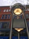UFO da cidade foto de stock