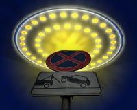 UFO dat ik heb willen om parkeren Royalty-vrije Stock Afbeeldingen