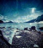 UFO de Alaska Imágenes de archivo libres de regalías