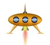 UFO de la historieta Fotos de archivo