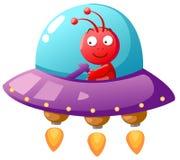 UFO del extranjero ilustración del vector