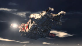 UFO dell'oggetto volante non identificato Immagine Stock Libera da Diritti
