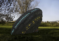 UFO dell'oggetto volante non identificato Fotografia Stock