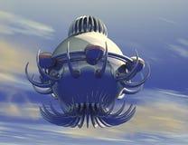 UFO do objeto de voo não identificado Imagens de Stock