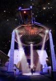 UFO in Egypte vector illustratie