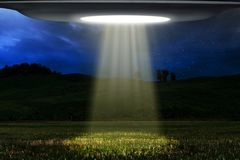 Ufo flying at night search human