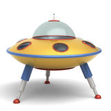 UFO flying saucer toy Stock Image