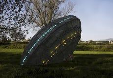 ufo för oidentifierat flygobjekt Arkivbild