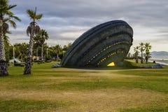 UFO Futuristisches Raumschiff lizenzfreie abbildung
