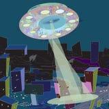 Ufo het richten Stock Afbeeldingen