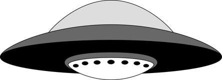 UFO Illustrazione di vettore Fotografia Stock Libera da Diritti