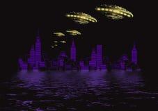 Free Ufo In Dark Royalty Free Stock Photo - 3175975