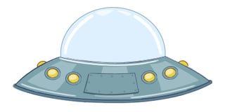 UFO Latający spodeczek royalty ilustracja