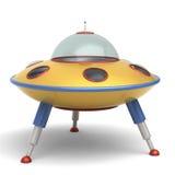 UFO latającego spodeczka zabawka Obraz Stock