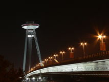 UFO na ponte Imagens de Stock