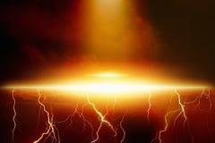 UFO, nave espacial extraterrestre Fotos de Stock