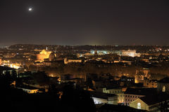 Ufo night in Rome Stock Photography