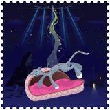 UFO ontvoerde kat Stock Afbeeldingen