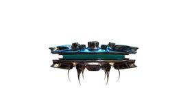 UFO-Raumschiff stock abbildung