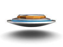 Ufo ship Royalty Free Stock Image