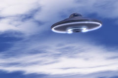UFO in the sky Stock Photography