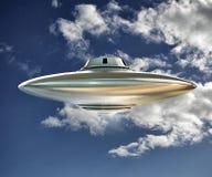 Ufo spaceship Stock Images