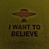Ufo spaceship Royalty Free Stock Photos