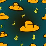 UFO texture Stock Images
