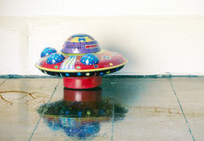Ufo toy Stock Images