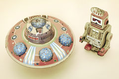 Ufo toy Royalty Free Stock Image