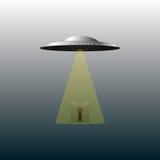 UFO und Ausländer Stock Abbildung