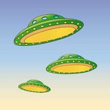 Ufo (vector) Royalty Free Stock Image