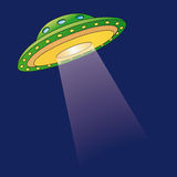Ufo (vector) Stock Image
