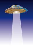 Ufo (vector) Royalty Free Stock Photo