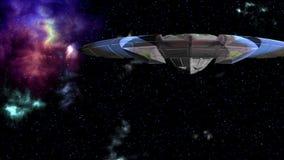 UFO w głębiach przestrzeń